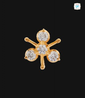 Spear Diamond Stud - 0022