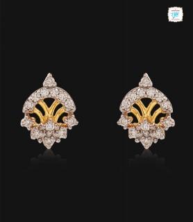 Glistening Diamond Stud - 0578