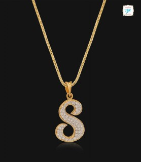 Sweet S Alphabet Pendant