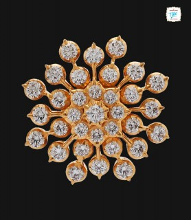 Snowflake Diamond Stud - 0025