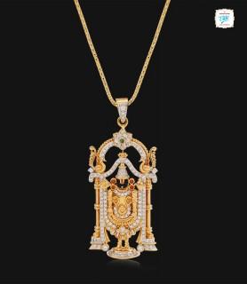Lord Vishnu Diamond Pendant...