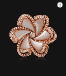 Lovely Plumeria Ring - 0637