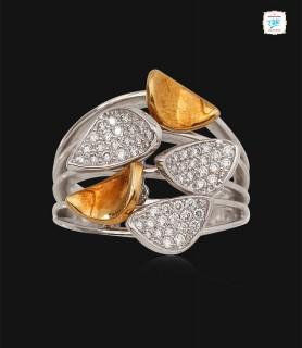 Glory Petal Diamond Ring- 0638