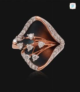 Glint Rosebud Diamond Ring...