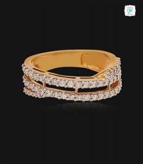 Sparkle Sleek Diamond Ring...