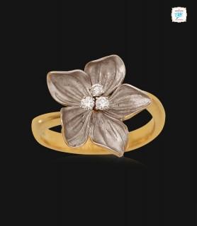 Leilani Floral Diamond Ring...