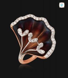 Beautiful Petal Ring - 0652