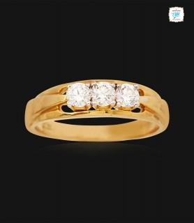 Twinkle Triad Diamond Ring...
