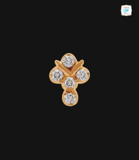 Fancy Diamond Stud - 0027