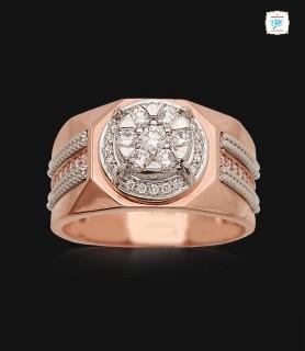 Roseate Square Diamond Ring...