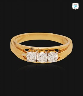 Triple Glitter Diamond Ring...