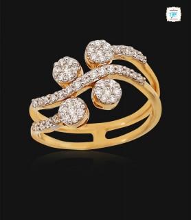 Tinsel Diamond Ring - 0697