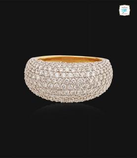 Twinkle Pave Diamond Ring -...