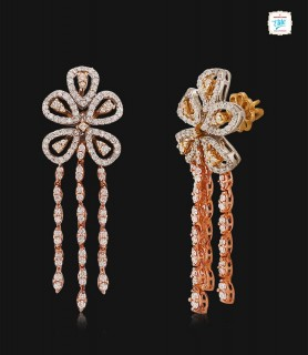 The Mawar Diamond Earrings...