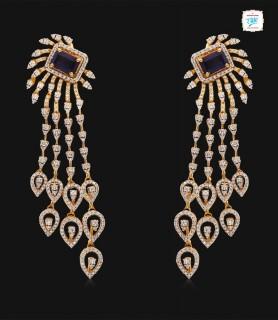 Laya Diamond Earrings - 0714