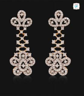 Intricate Floral Diamond...