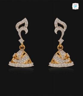 Ivy Diamond Jhumka-0719