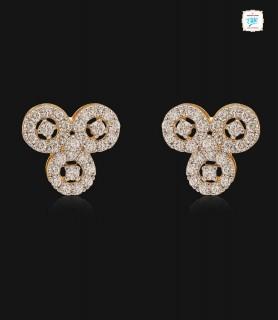 Trio Twinkle Diamond Stud -...