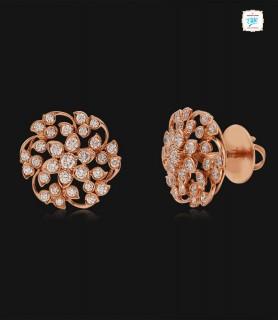 Petunia Diamond Stud - 0732