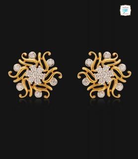Linnea Diamond Stud - 0734