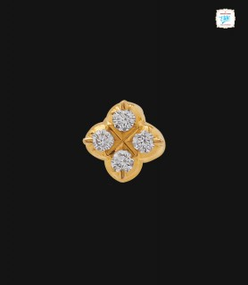 Rowena Four Diamond Stud -...