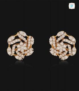 Azalea Diamond Stud- 0745