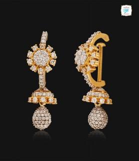 Splendid Floral Diamond...