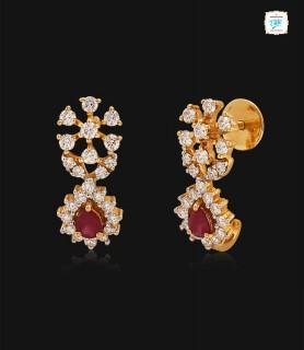 Zahur Diamond Stud - 0749