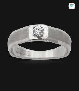 Solitaire Platinum Ring -0752