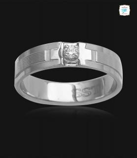 Alfred Platinum Ring -0753