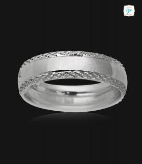 Kevin Platinum Ring -0759