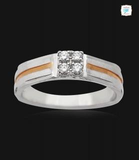 Quartet Platinum Ring -0762