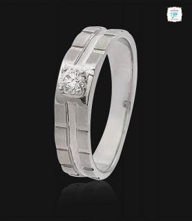 Carlos Platinum Ring -0763