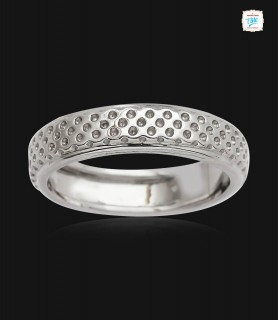 Infinite Dot Platinum Ring...