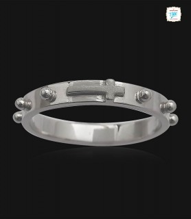 Cross Platinum Ring -0766