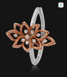 Pansy Platinum Ring - 0770