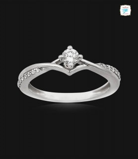 Fantastic Platinum Ring -0773