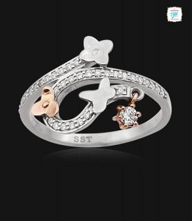 Azalea Platinum Ring - 0776