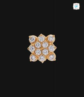 Aleeza Blossom Diamond Stud...