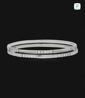 Lavish Platinum Bangles -0833