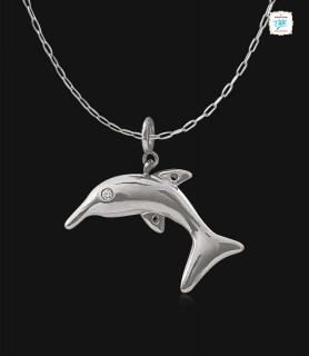 Charming Dolphin Platinum...