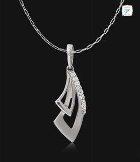 Eternity Platinum Pendant -...
