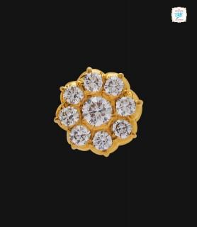 Clematics Diamond Stud - 0044