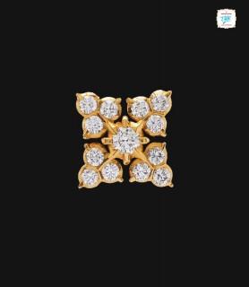 Structured Leaf Diamond...