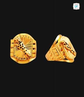 Classy Cheetah Gold Ring -0345