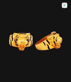 Dazzle Tiger Gold Ring-  0370