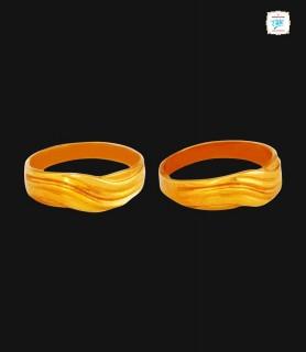 Elegant Wave Design Ring -0348