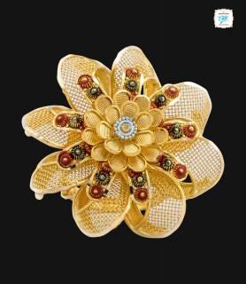 Stylish Cosmos Gold Ring -...