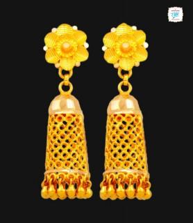 Fleur Motif Gold Jimikki -...