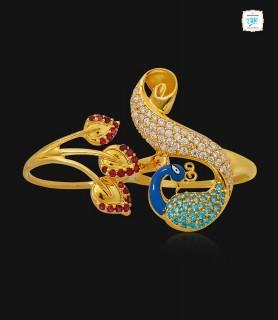 Regalia Mayoor Gold Ring -...